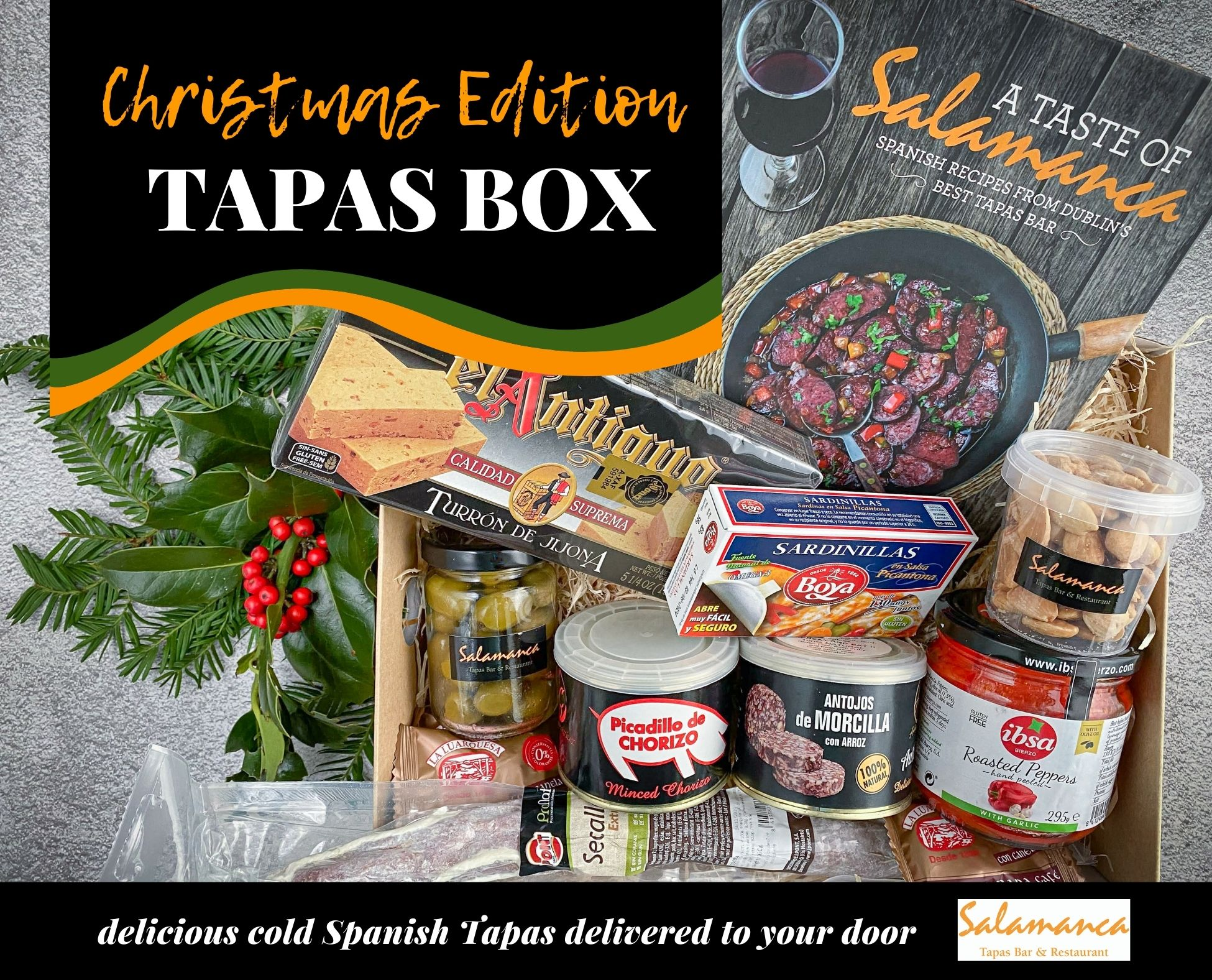 christmas spanish tapas box